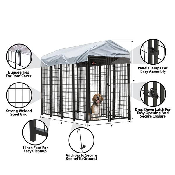 Welded Mesh Dog Kennel