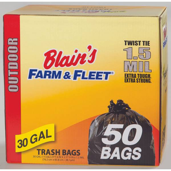 30 Gallon Outdoor Trash Bags