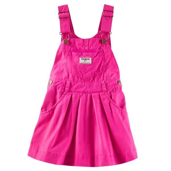 Infant Girl's Neon Jumper Overalls