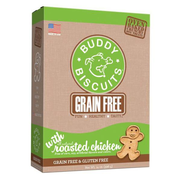 Grain Free Oven Baked Buddy Biscuits Dog Treats