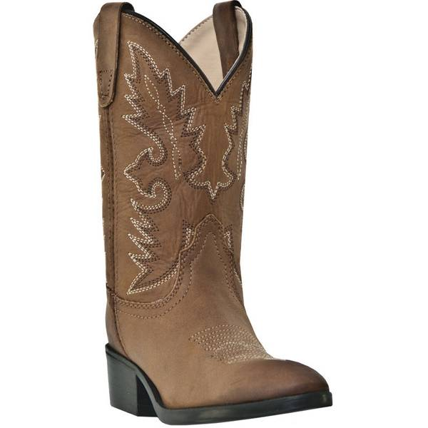 Boys'  Distressed Leather Shane Western Boots
