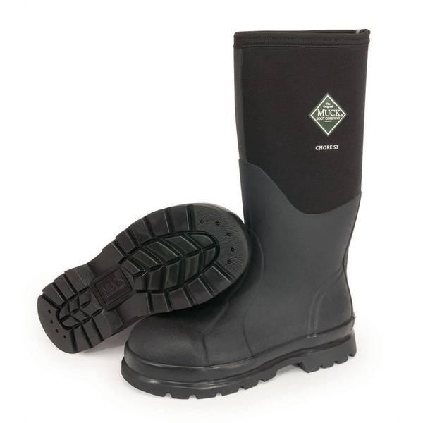 Men's  High Steel Toe Chore Boots