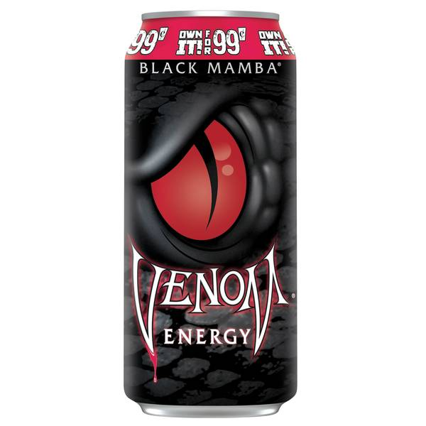 16 oz Black Mamba Energy Drink