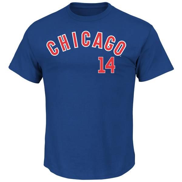 Chicago Cubs Royal Blue Ernie Banks #14 Tee