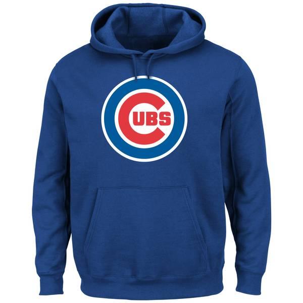 Men's  Chicago Cubs Tek Patch Fleece Sweatshirt