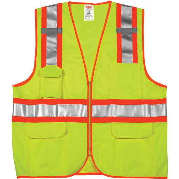 Men's Job Sight Class 2 Two-Tone Surveyor Vest