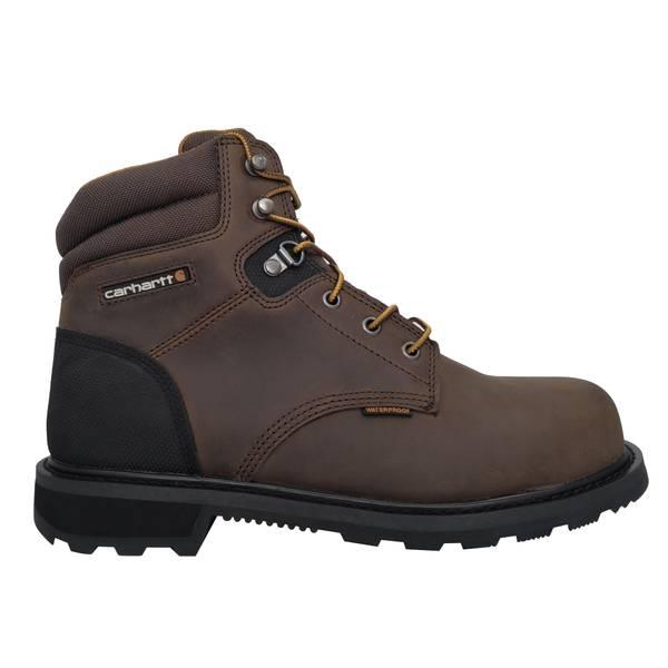 """Men's  6"""" Waterproof Steel Toe Work Boots"""