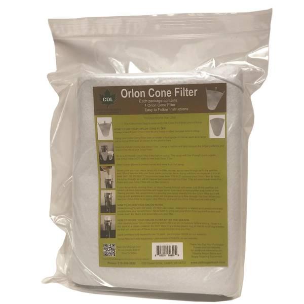 Orlon Syrup Filter Bag