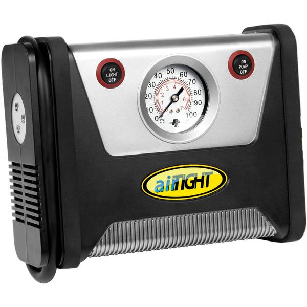 Tire Inflator with LED Light