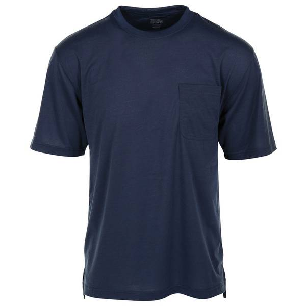 Men's Short Sleeve No Stink Pocket Crew Shirt