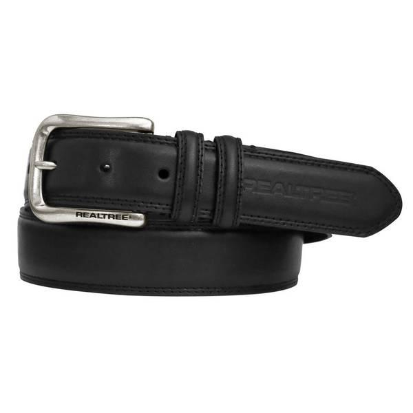 Men's Leather Burnished Belt