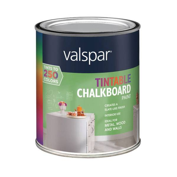 Valspar Tintable Chalkboard Paint