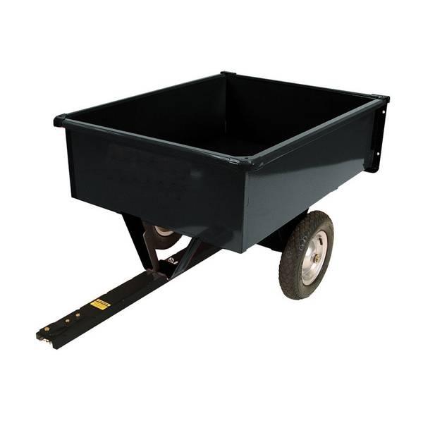 Steel Trailing Dump Cart