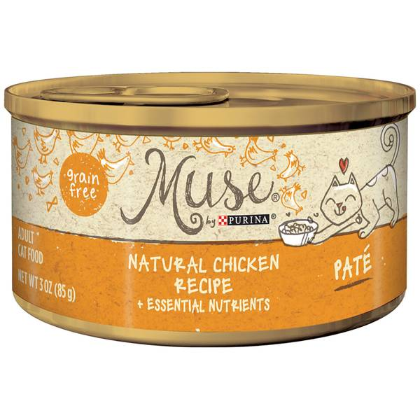 Muse Natural Chicken Cat Food