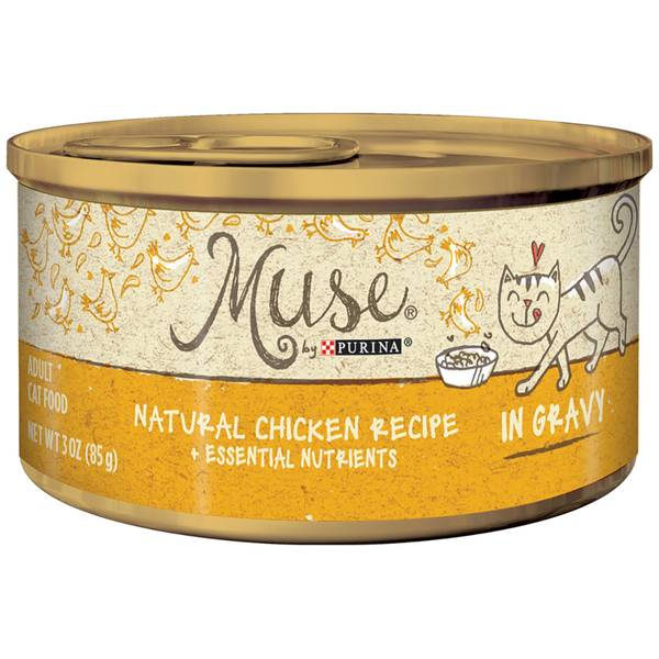 Muse Natural Chicken in Gravy Cat Food