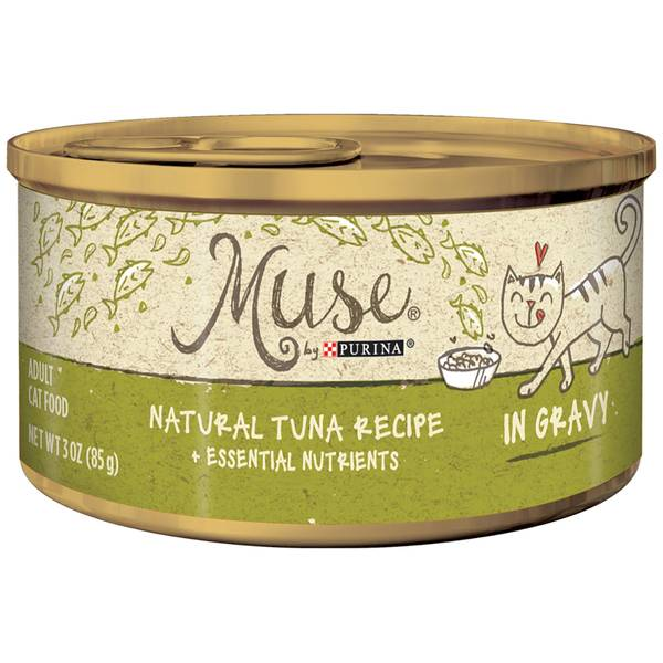Muse Natural Tuna in Gravy Cat Food