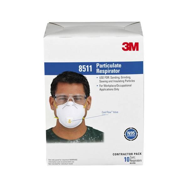 Paint Sanding Valved Respirator