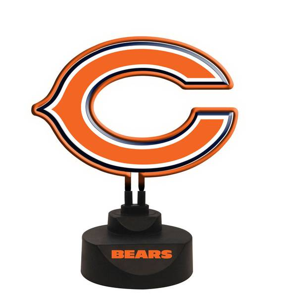 Chicago Lighting Company: The Memory Company Chicago Bears Team Logo Neon Light