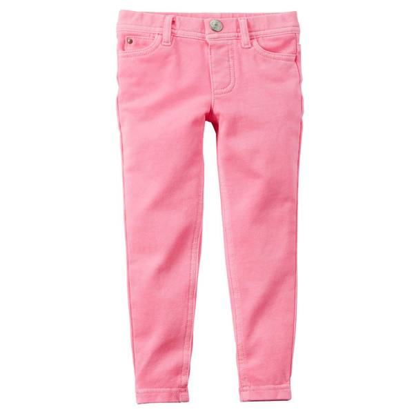 Girl's Neon French Terry Jeggings