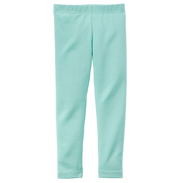 Toddler Girl's Turquoise Leggings