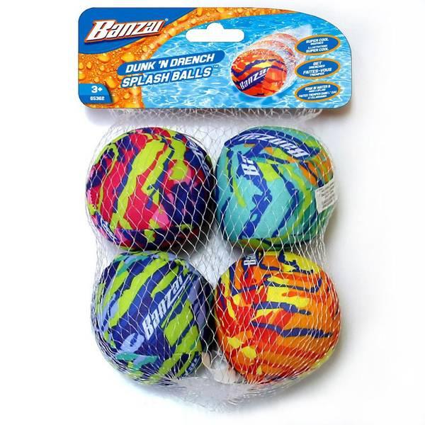 4-Pack Dunk N' Drench Balls
