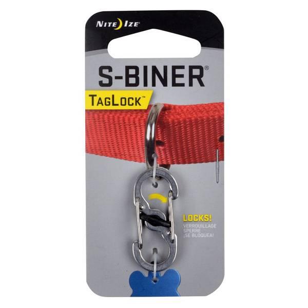 S-Biner Stainless Steel Pet TagLock