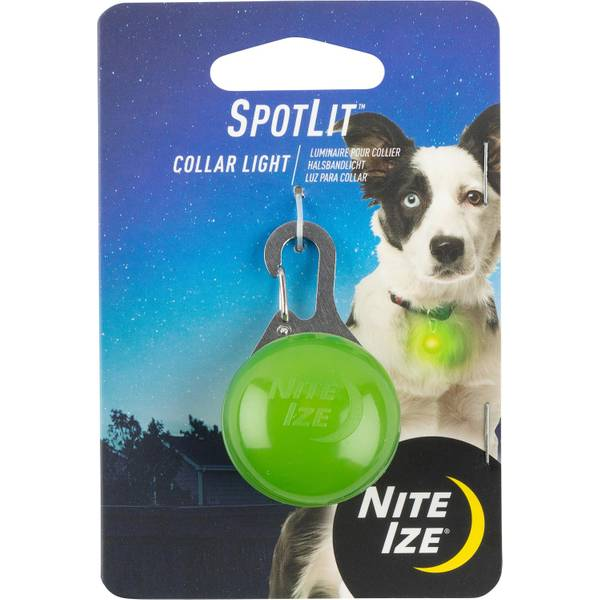 SpotLit Lime & White LED Carabiner Light