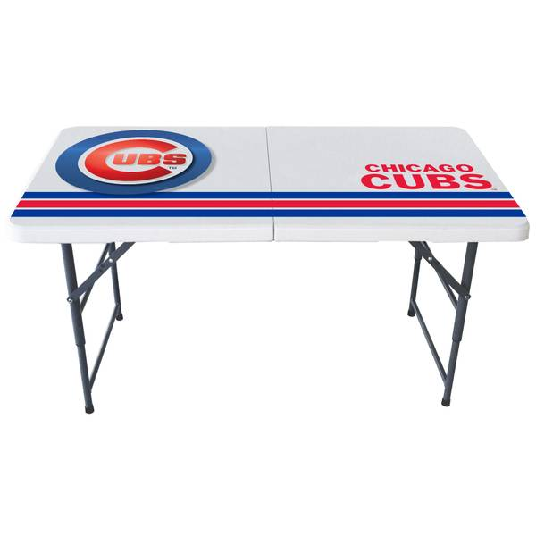 Chicago Cubs 4u0027 Bifold Table