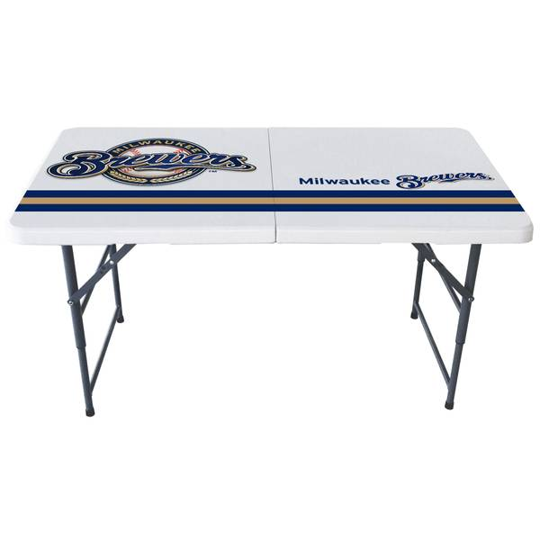Milwaukee Brewers 4' Bifold Table