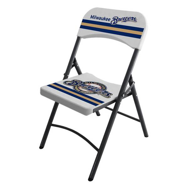 Free Furniture In Milwaukee: Imperial International Milwaukee Brewers Blow Mold Resin Chair