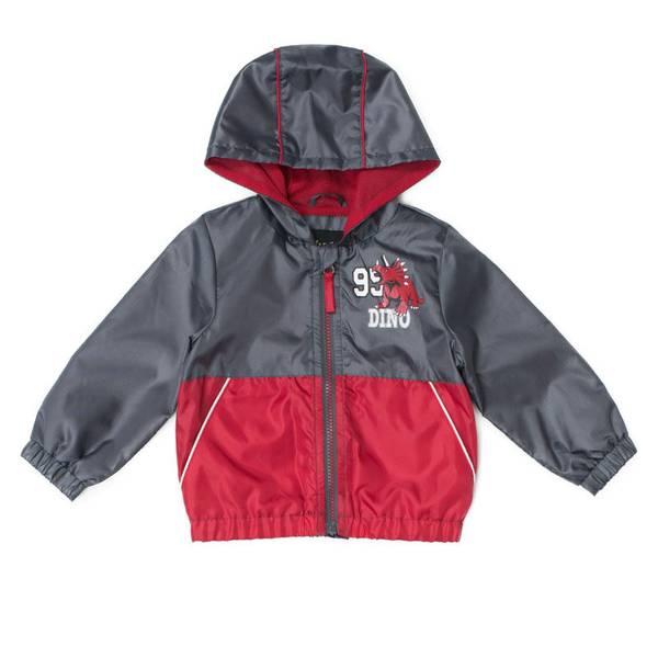 Infant Boys' Charcoal Colorblock Jacket