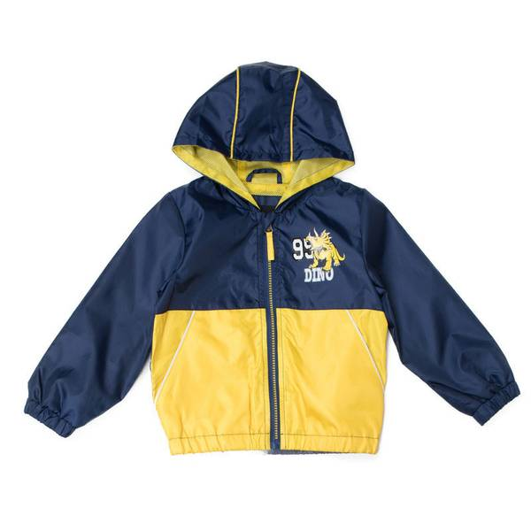 Infant Boy's Navy Colorblock Jacket