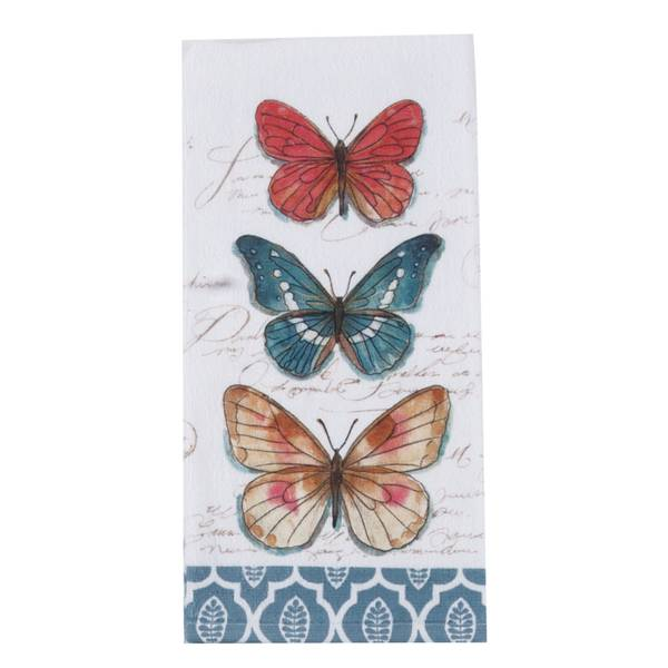 Kay dee designs butterfly garden terry towel Kay dee designs kitchen towels
