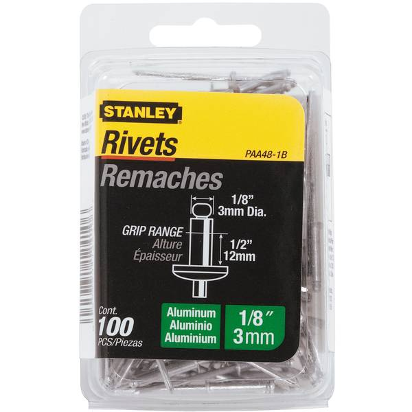 "1/8"" Rivets-100 Pack"