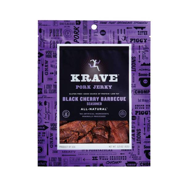 Black Cherry Barbecue Pork Jerky
