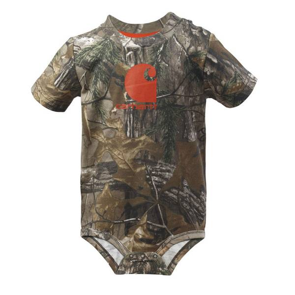 Infant Boy's Realtree Camouflage Bodysuit