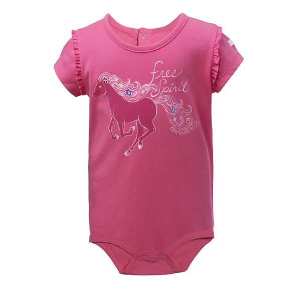 Baby Girl's Pink Free Spirit Bodysuit
