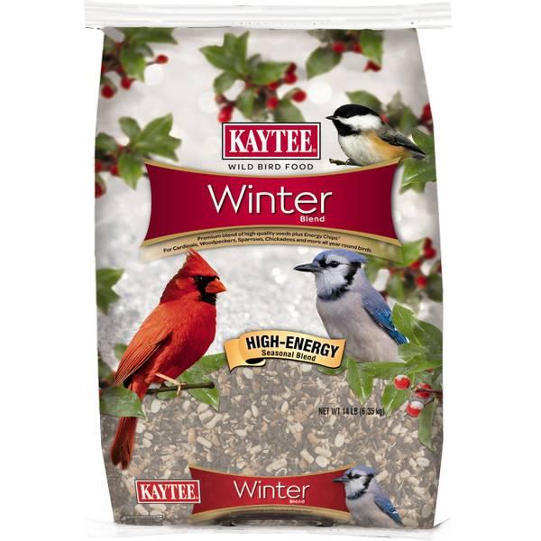 Kaytee 14 lb Winter Blend Wild Bird Food (953050 100520614) photo