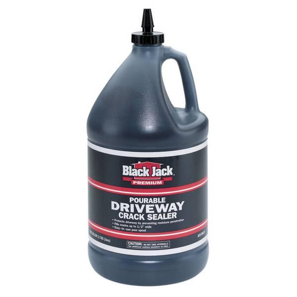 Gardner Gibson Black Jack Pourable Driveway Crack Sealer