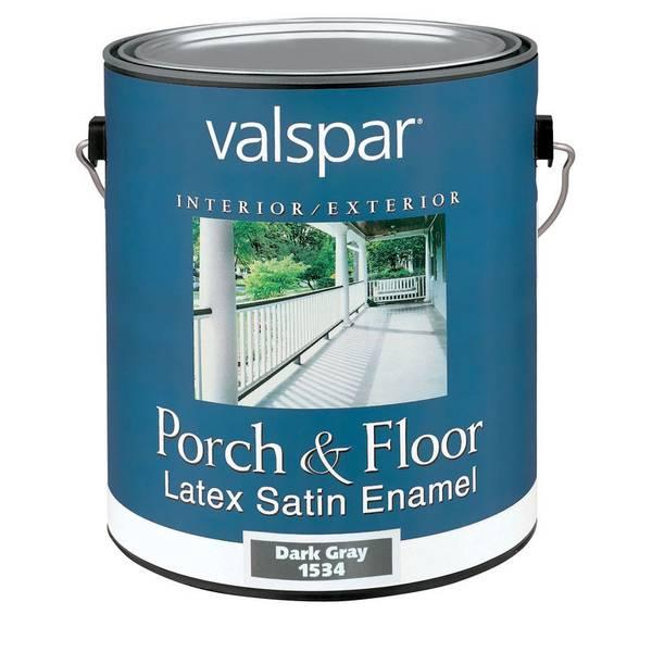 valspar porch and floor latex satin enamel. Black Bedroom Furniture Sets. Home Design Ideas