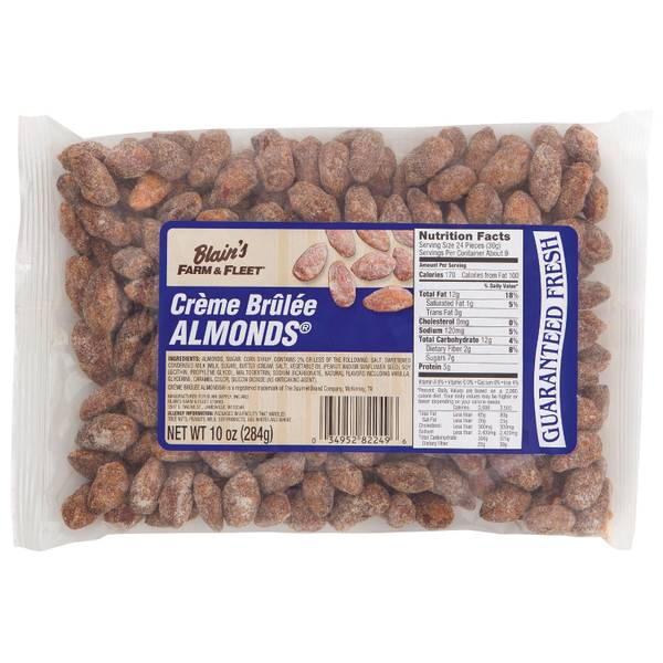 10 oz Creme Brulee Almonds
