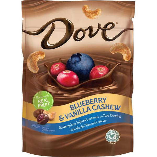 Dove Chocolate Blueberry Amp Cashew Vanilla Chocolates