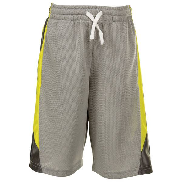 Infant Boy's Gray Active Mesh Shorts