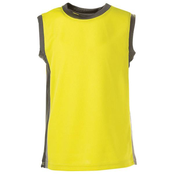 Toddler Boy's Sulphur Active Mesh Top