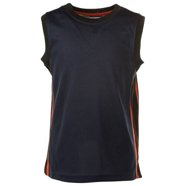 Toddler Boy's Navy Active Mesh Top