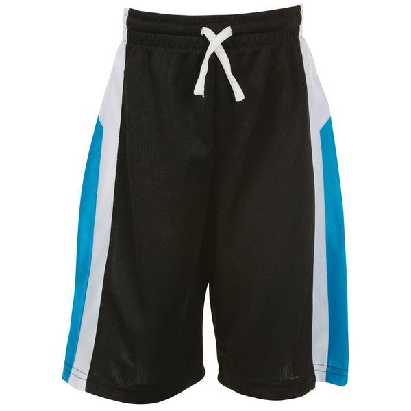 Infant Boy's Black Active Mesh Shorts