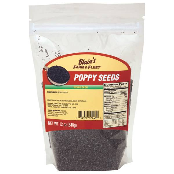 Whole Seed Poppy Seeds