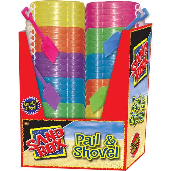Sand Box Toy Pail & Shovel