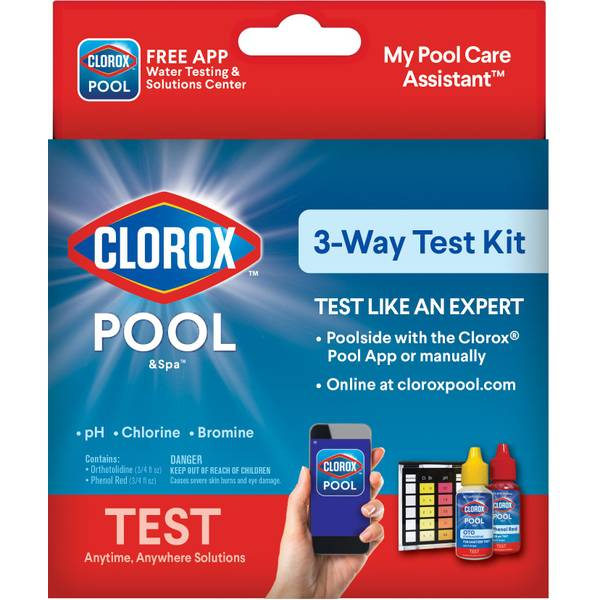 Pool & Spa 3-Way Test Kit