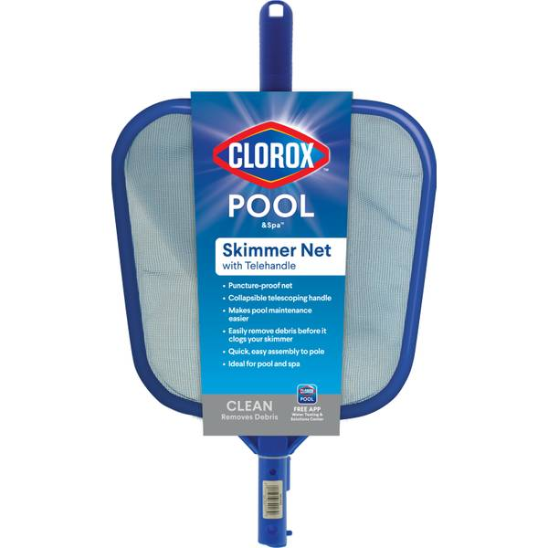 Pool & Spa Skimmer with Telepole